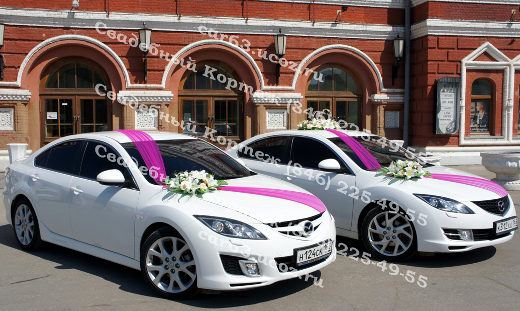 Как украсить свадебную машину своими руками  Piondecor